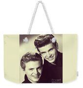The Everly Brothers Weekender Tote Bag