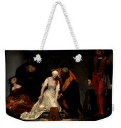 The Execution Of Lady Jane Grey In The Tower Of London In The Year 1554 Weekender Tote Bag