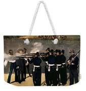 The Execution Of The Emperor Maximilian Weekender Tote Bag