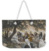 The Exhortation To The Apostles Weekender Tote Bag