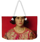The Exile - Heavy Is The Price I Paid For Love Weekender Tote Bag by Thomas Cooper Gotch