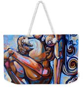 The Expecting Muse Weekender Tote Bag