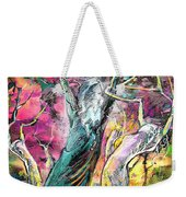 The Expulsion From Paradise Weekender Tote Bag