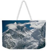 The Extreme Terrain Of Mount Everest Weekender Tote Bag