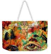 The Eye Of Art Weekender Tote Bag