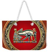 The Eye Of Horus Weekender Tote Bag by Serge Averbukh