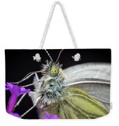 The Eye Of The Green-veined Butterfly. Weekender Tote Bag
