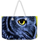 The Eye Of The Owl -the  Goobe Series Weekender Tote Bag