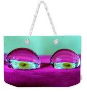 The Eye Of The Petal II Weekender Tote Bag