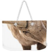 The Eye Of The Ram Weekender Tote Bag