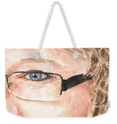 The Eyes Have It - Donna Weekender Tote Bag