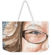 The Eyes Have It - Emma Weekender Tote Bag