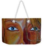 The Eyes Of The Muse Weekender Tote Bag