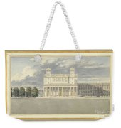 The Fa?ade And Suroundings Of A Cathedral For Berlin Weekender Tote Bag