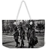 The Fab Four In Black And White Weekender Tote Bag