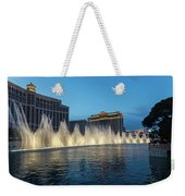 The Fabulous Fountains At Bellagio - Las Vegas Weekender Tote Bag