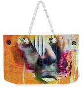 The Face At The Wall Weekender Tote Bag