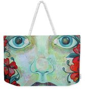 The Face Of Persephone I Weekender Tote Bag