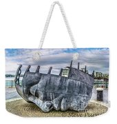 The Face Of The Bay Weekender Tote Bag
