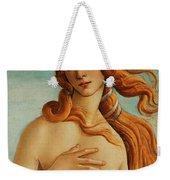 The Face Of Venus Weekender Tote Bag