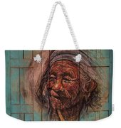 The Face Of Wisdom Weekender Tote Bag