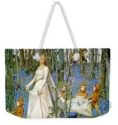 The Fairy Wood Weekender Tote Bag by Henry Meynell Rheam