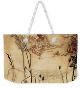 The Fairy's Tightrope From Peter Pan In Kensington Gardens Weekender Tote Bag