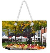 The Fall Harvest Is In Kendall Square Farmers Market Foliage Weekender Tote Bag
