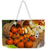 The Fall Harvest Is In Kendall Square Farmers Market Weekender Tote Bag