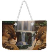 The Fall Of A Reflection  Weekender Tote Bag