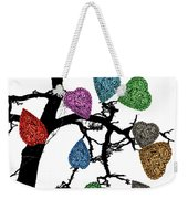 The Fall Of Hearts Weekender Tote Bag