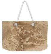 The Fall Of The Rebel Angels [recto] Weekender Tote Bag