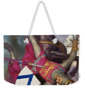 The Fall Of William The Conqueror Weekender Tote Bag
