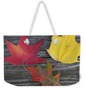 The Fallen Leaves Of Autumn Weekender Tote Bag