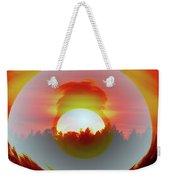The Falling Sun  Weekender Tote Bag