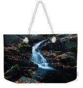 The Falls Of Black Creek In Autumn II Weekender Tote Bag