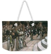The False Witness Weekender Tote Bag by Tissot