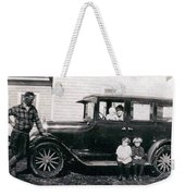 The Family Car Weekender Tote Bag