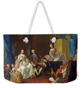 The Family Of Philip Of Parma  Weekender Tote Bag