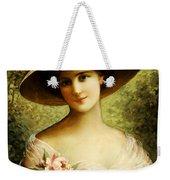The Fancy Bonnet Weekender Tote Bag by Emile Vernon