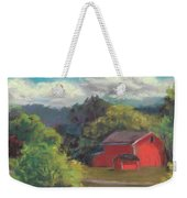 The Farm To The East Weekender Tote Bag
