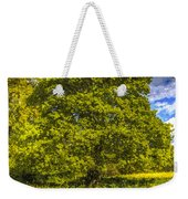 The Farm Tree Art Weekender Tote Bag