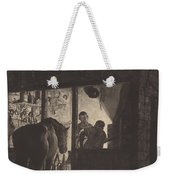The Farrier's Shop Weekender Tote Bag