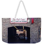 The Fast Lane 2 Weekender Tote Bag