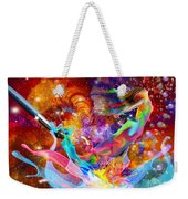 The Fathers Paint Brush Weekender Tote Bag