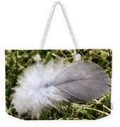 The Feather Weekender Tote Bag