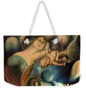 The Feathered Serpent  Weekender Tote Bag