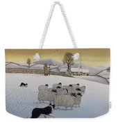 The Fells In Winter Weekender Tote Bag