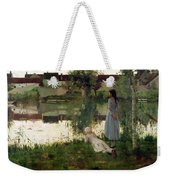 The Ferry Weekender Tote Bag by William Stott