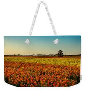 The Field Of Flowers Weekender Tote Bag